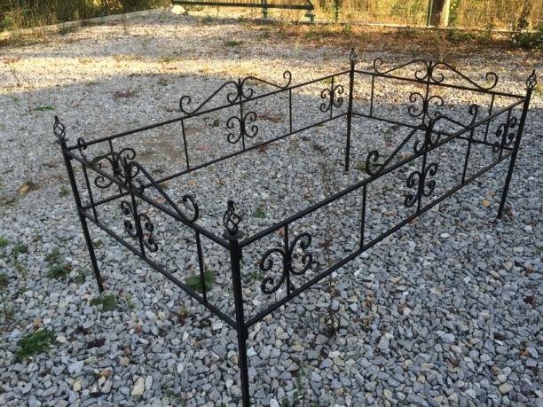 Ограда кованная №2
